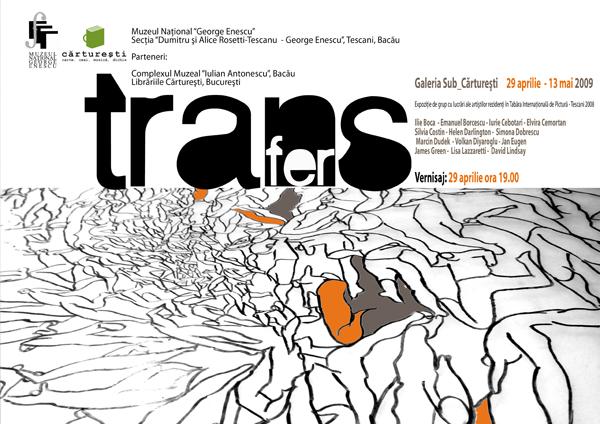 Transfer exhibition poster_ volkan diyaroglu